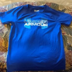 Under armour boys short sleeve tee